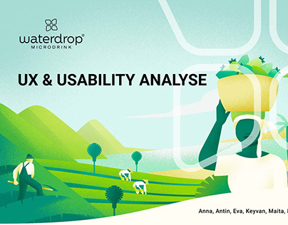 Waterdrop UX & Usability Analyse