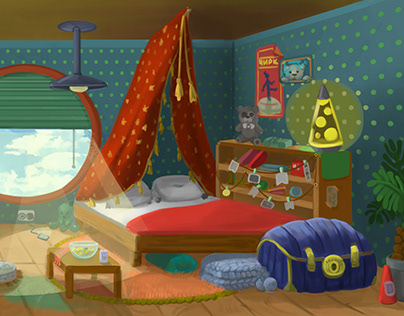 room background boy | комната мальчика