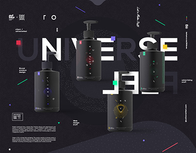 UNIVERSE FEEL x Product brand design