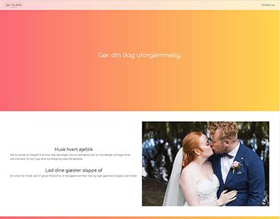 Web development - Bachelors project