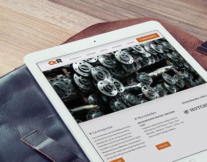 Alfa Rodamientos Web Site