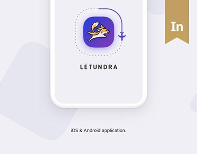 Letundra App. UI/UX