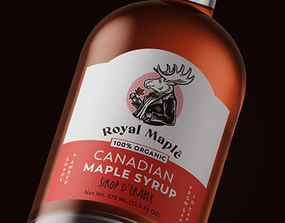 Braniding and packaging for Royal Maple