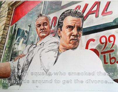 Paulie & Silvio - in progress