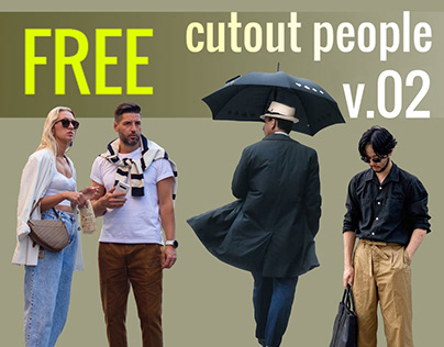 Free Cut Out People Vol. 02