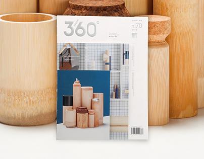 Design 360° Magazine no.70 - Narration of Bamboo