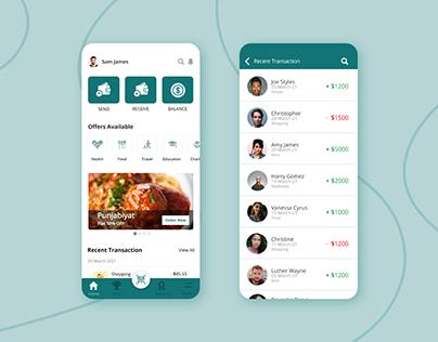 Best Online Payment App UI Design