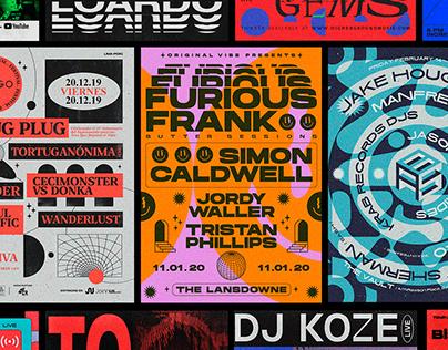 Concert Posters // BM