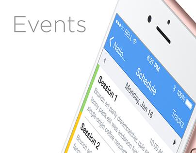 Events / iOS App