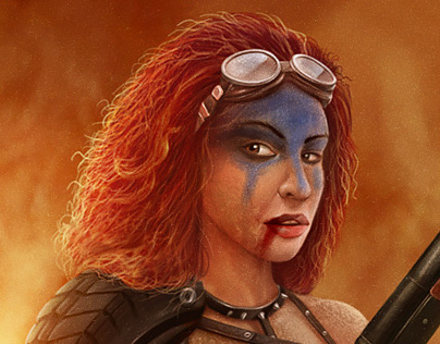 Red Sonja of Wasteland