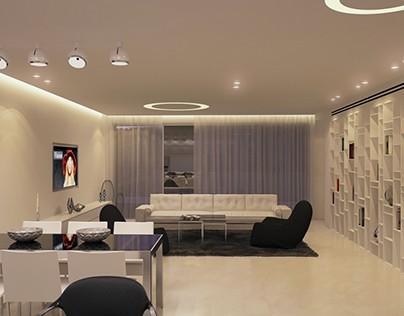 עיצוב דירה בגבעתים למראה יוקרתי במיוחד