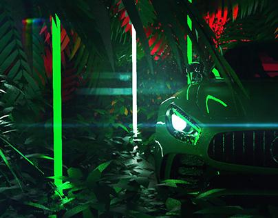 Mercedes Benz GTs Green Beast