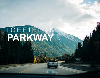 ON THE ROAD: ICEFIELDS PARKWAY, CANADA