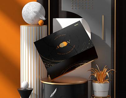踏「月」星河 OPPO 中秋礼盒包装设计