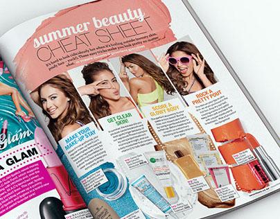 Editorial Design: Seventeen Magazine, South Africa