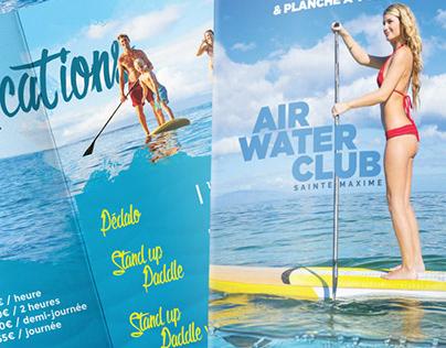 Dépliant AIR WATER CLUB