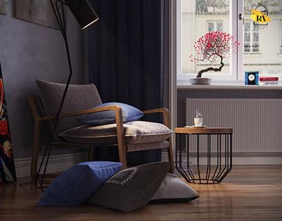 Уютный уголок cozy corner