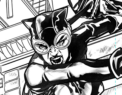 Catwoman Sample Pages
