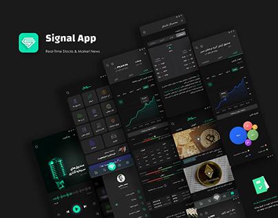 Signal Financial App