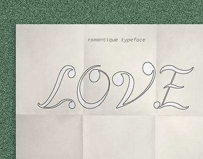 Romantique Font
