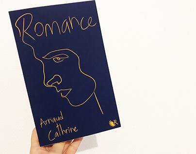 "Couverture de ""Romance"" de Arnaud Cathrine"