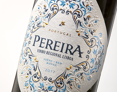 Packaging Pereira Vinho Regional Lisboa