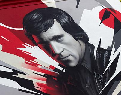 Vysotskiy — mural