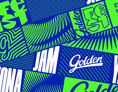 Golden Fest Branding
