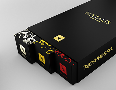 Natalis - Packaging (Nespresso)