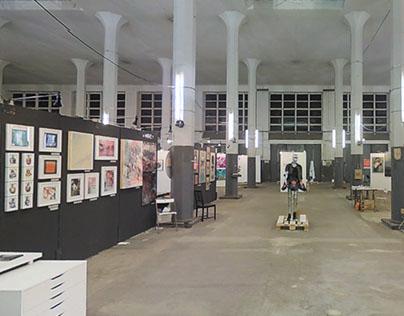 Stroke Ltd. Art Fair Munich // 360° VR Walkthrough