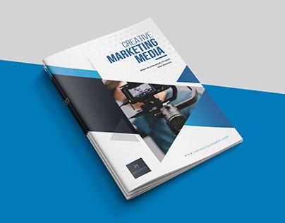 Creative Marketing Media Brochure Design