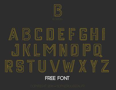 Boston | FREE Typeface