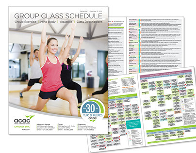 ACAC Group Exercise Brochure