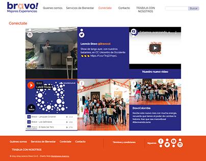 Interfaz web Bravo!
