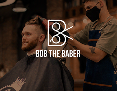 BOB THE BABER | Daily Logo Challenege Day 13