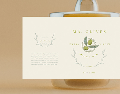 Mr Olives - Packaging and Branding