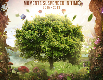 The Agosto's Moments Suspended in Time Poster