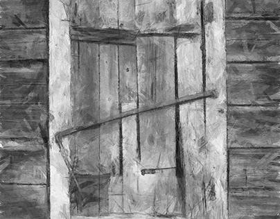 Old window (Life has passed)