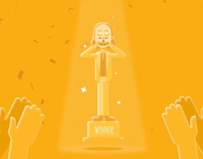 Oscar Winner - Joaquin Phoenix