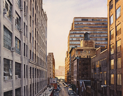 New York City in Watercolor