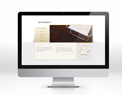 quintessens - site design