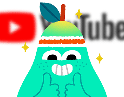 Mr. Pearfect: YouTube Super Stickers