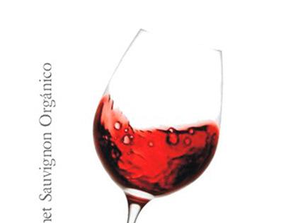 Piezas gráficas para viña organica