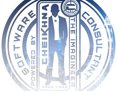 Cheikhna label design