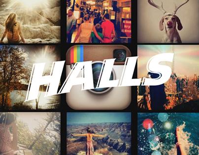 HALLS - Colors Case Study