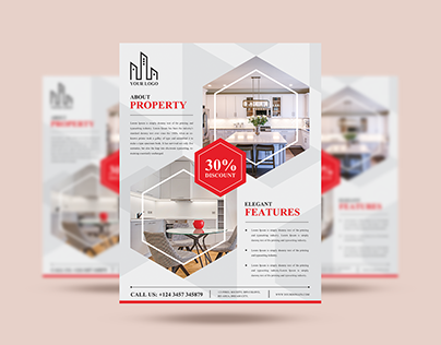 Free Real Estate Flyer Design Template