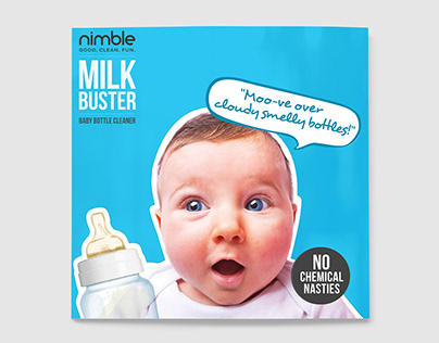 Nimble Babies (Packaging & Collaterals)