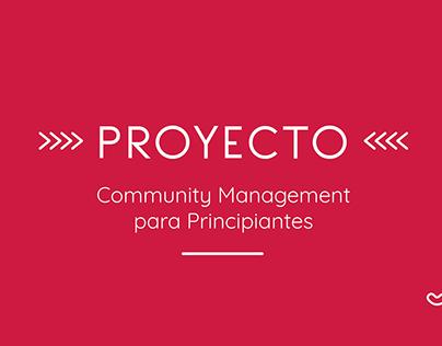 Proyecto: Community Management