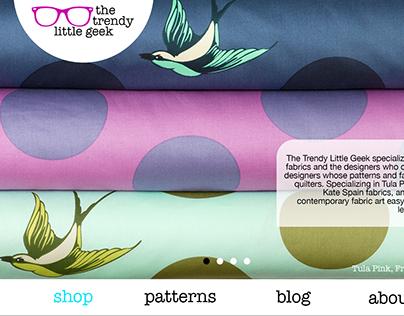 The Trendy Little Geek Website