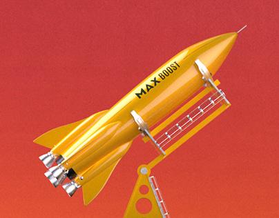 Max Boost 'Rocket'